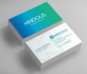 Kindous Business Cards